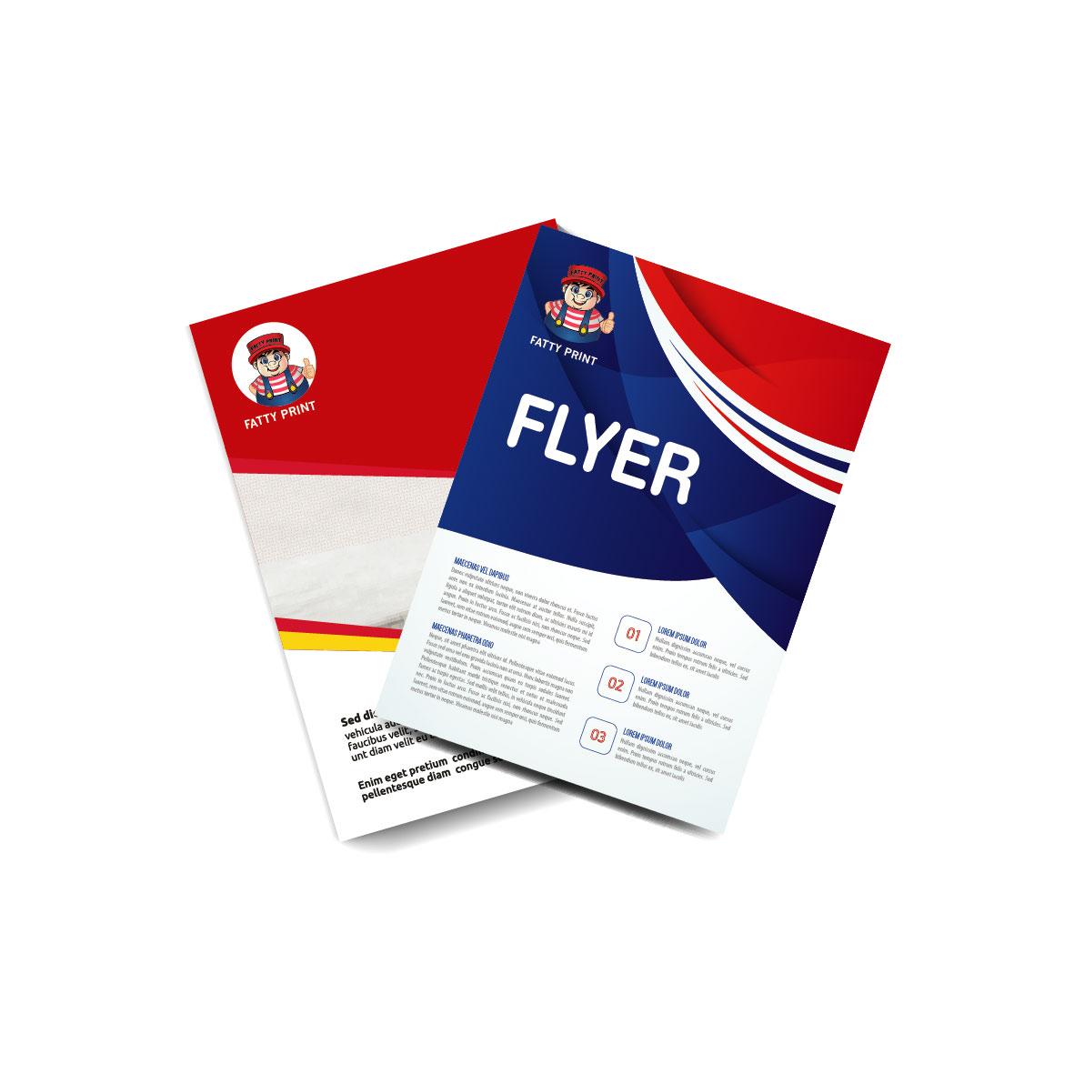 A5 Flyers 4c x 4c 128gsm Artpaper
