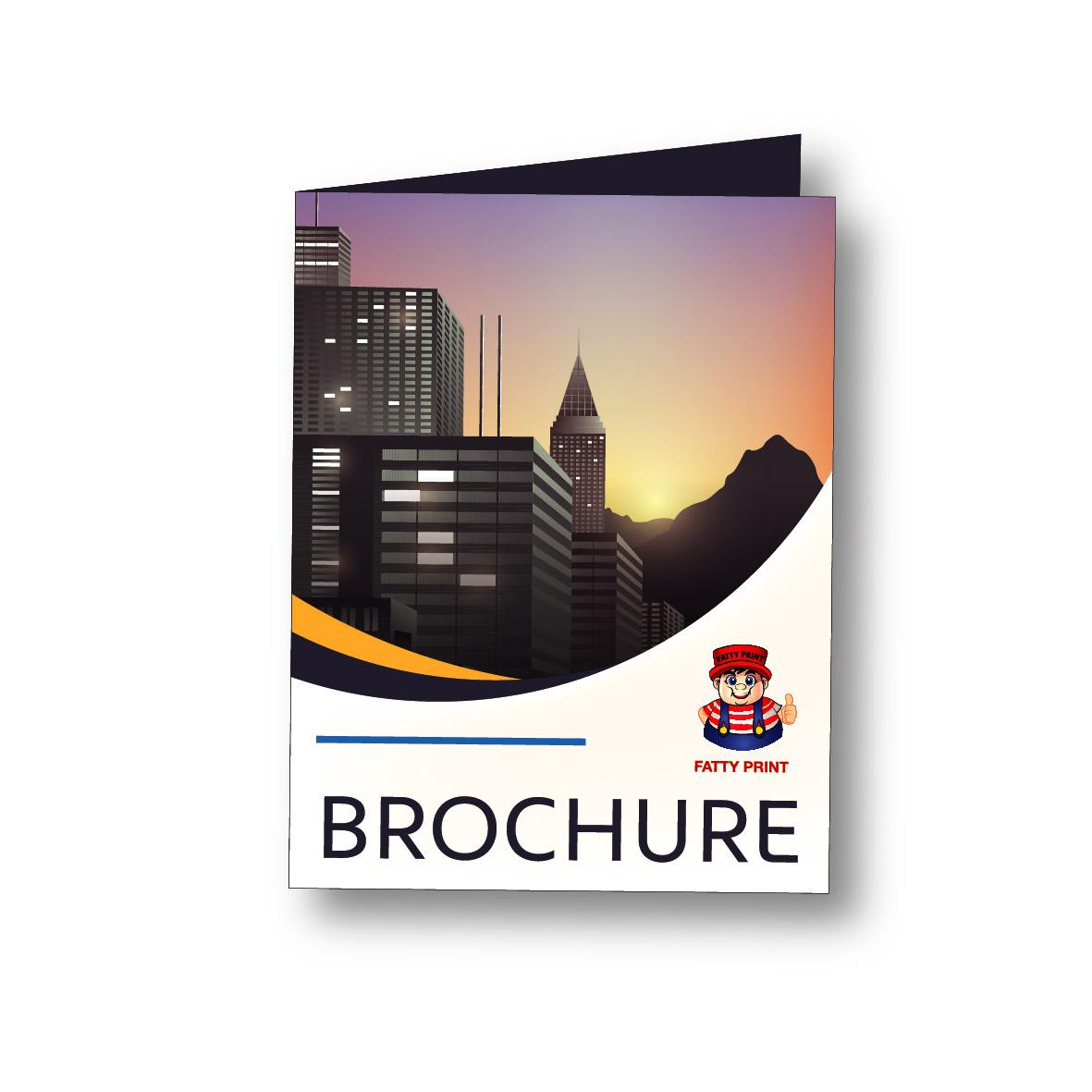 Brochure A4 Fold to A5 128gsm Artpaper