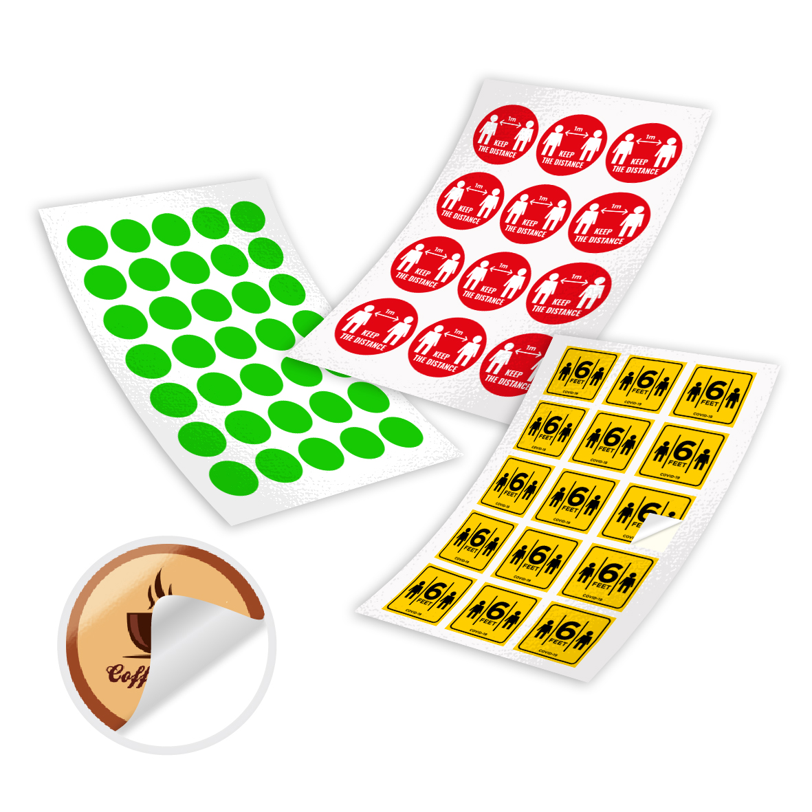 Mirrorkote Stickers
