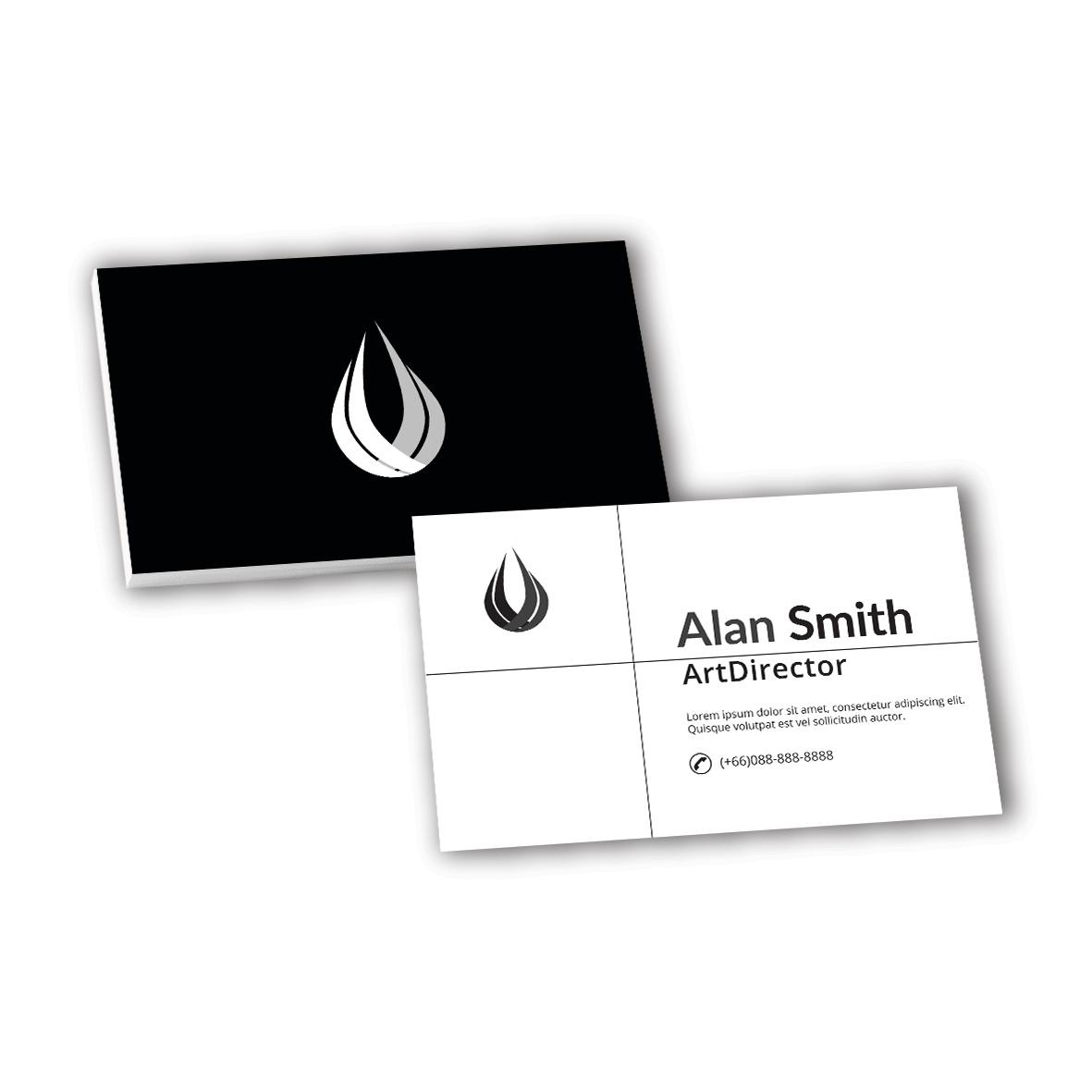 Name Cards (Black & White)