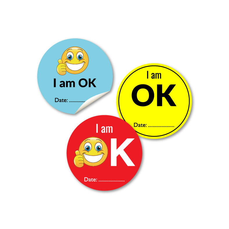 Ready Made OK Stickers