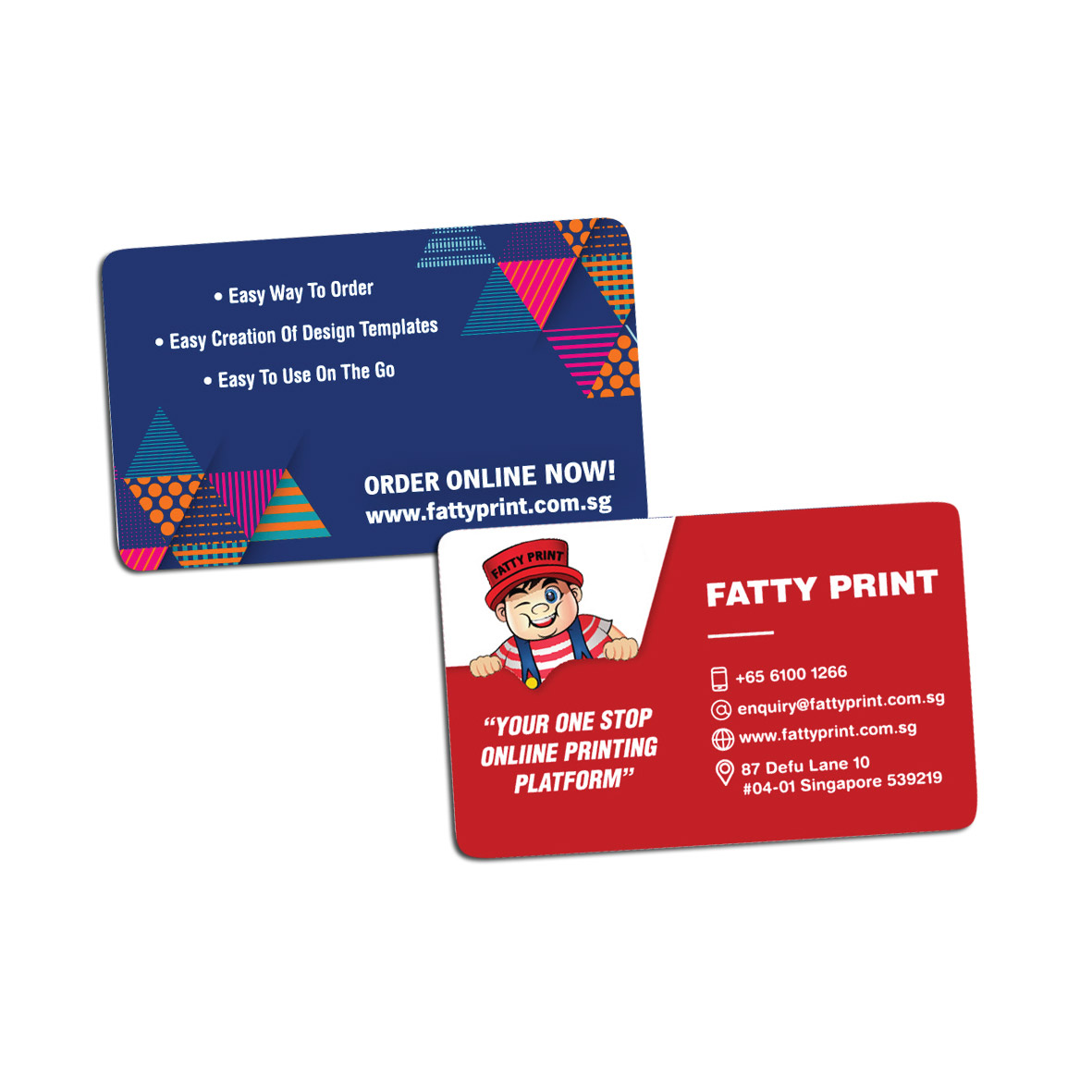 Name Cards (PVC Emboss)