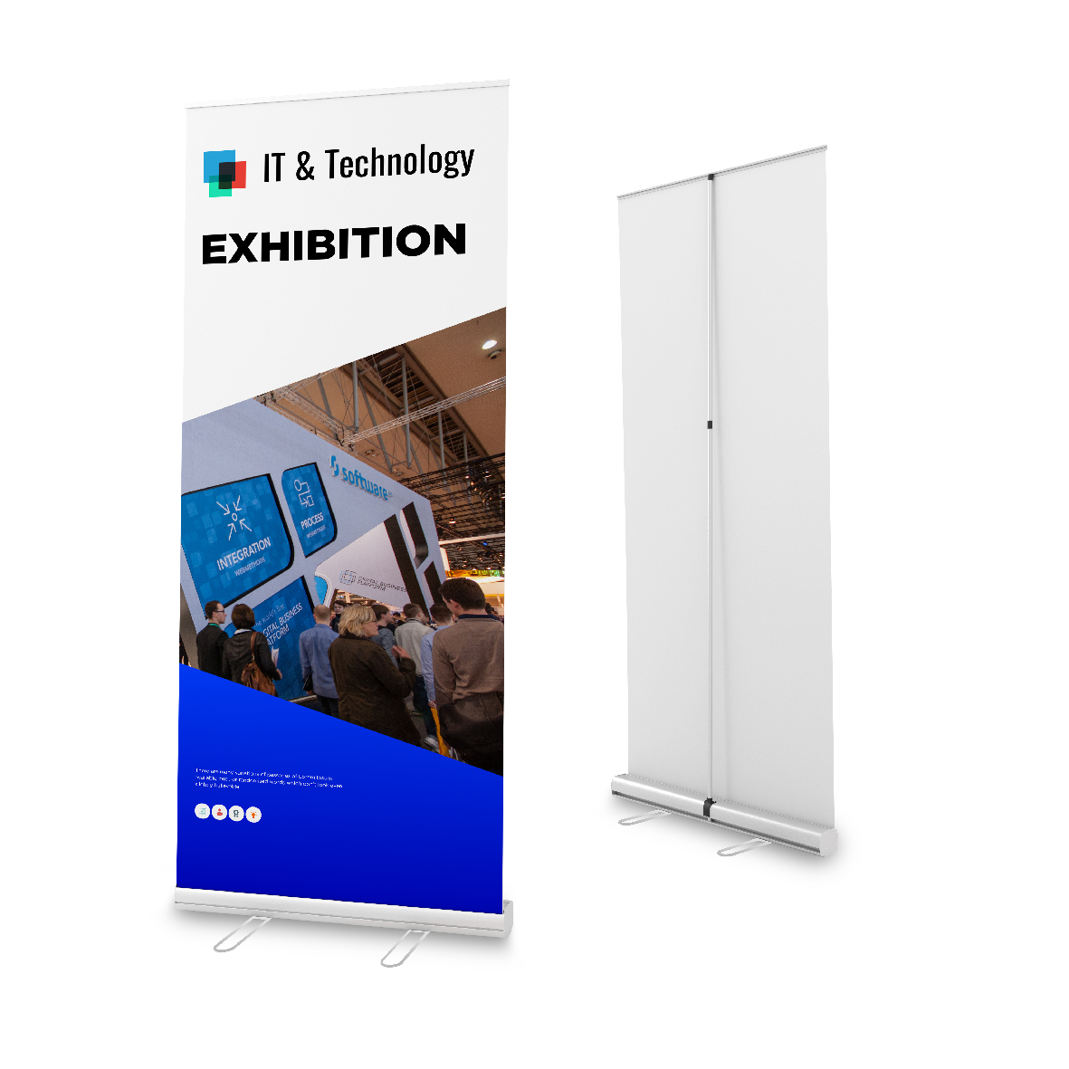 Budget Easy Roll Pull Up Banner