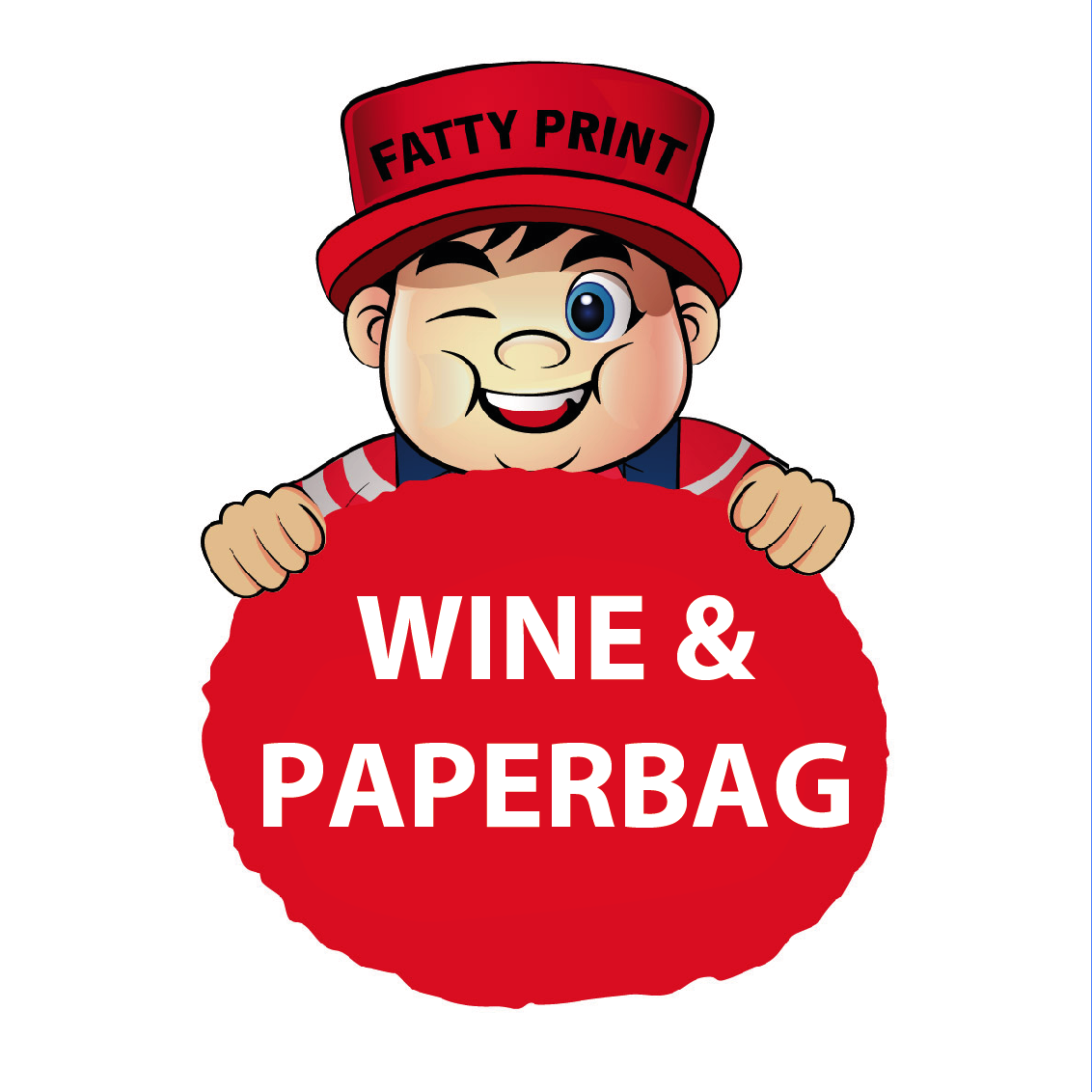 Wine Memento (Red Wine and Paper Bag)