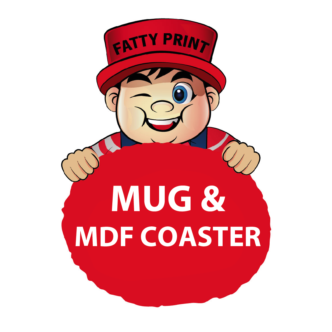 Mug With MDF Coaster(Pair)