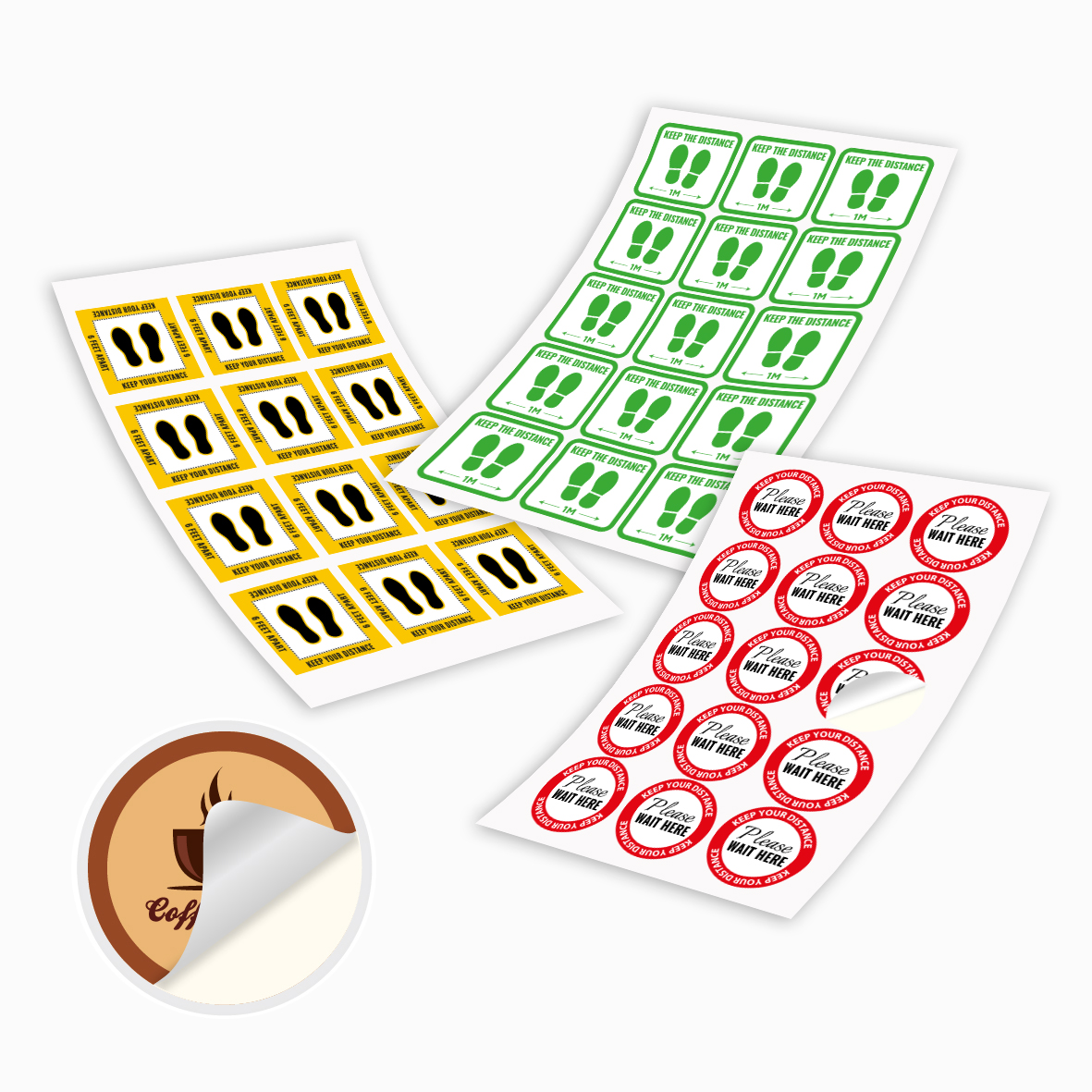 Woodfree Stickers