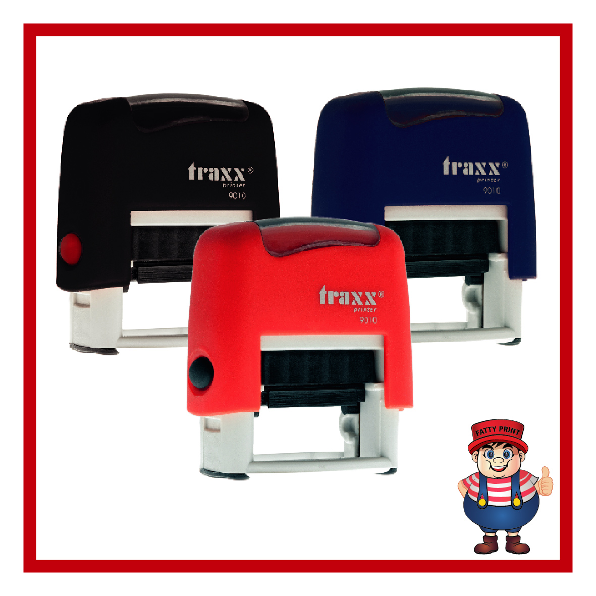 Traxx Self-Inking Stamps