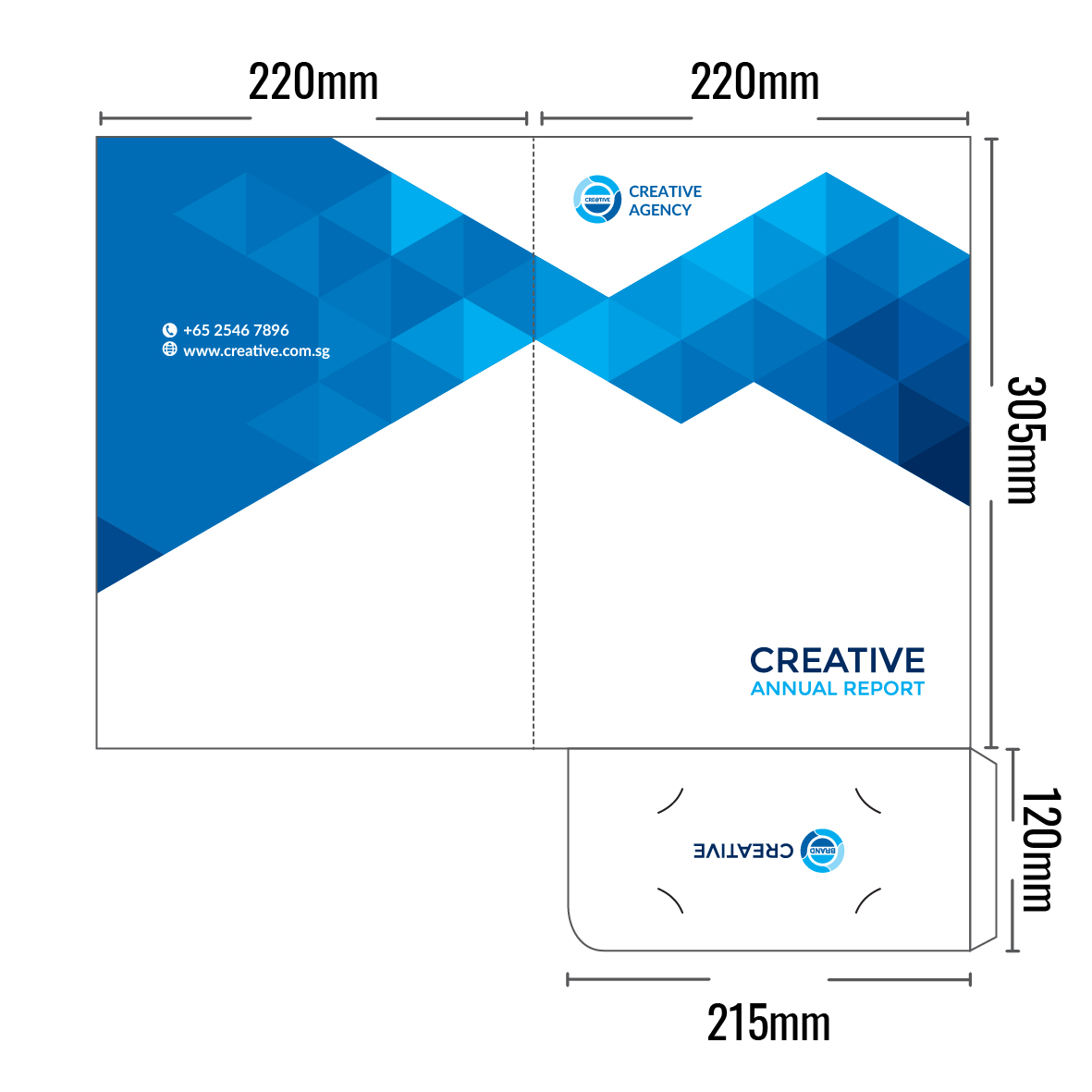 Presentation Folder 1 Pocket