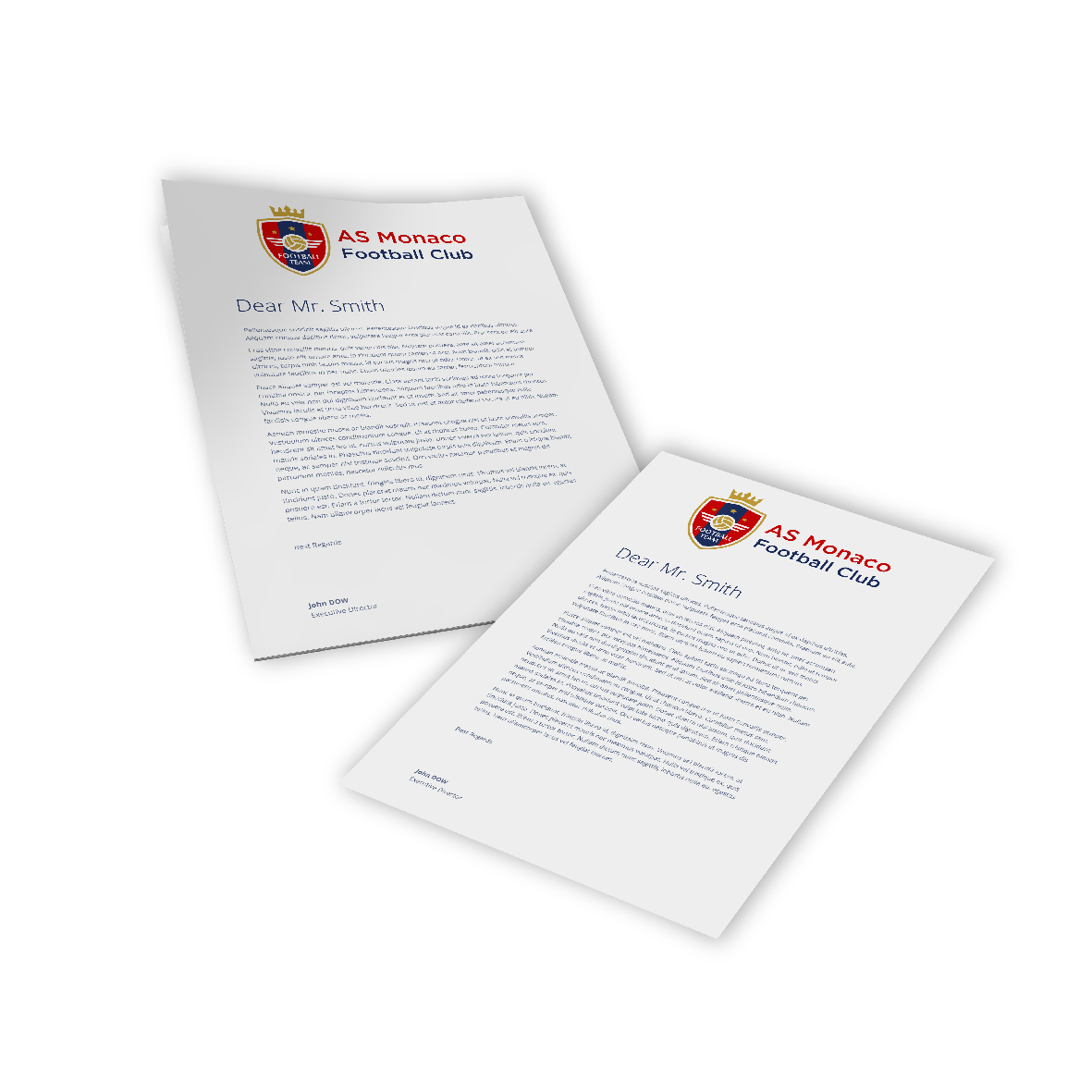 Digital Letterheads