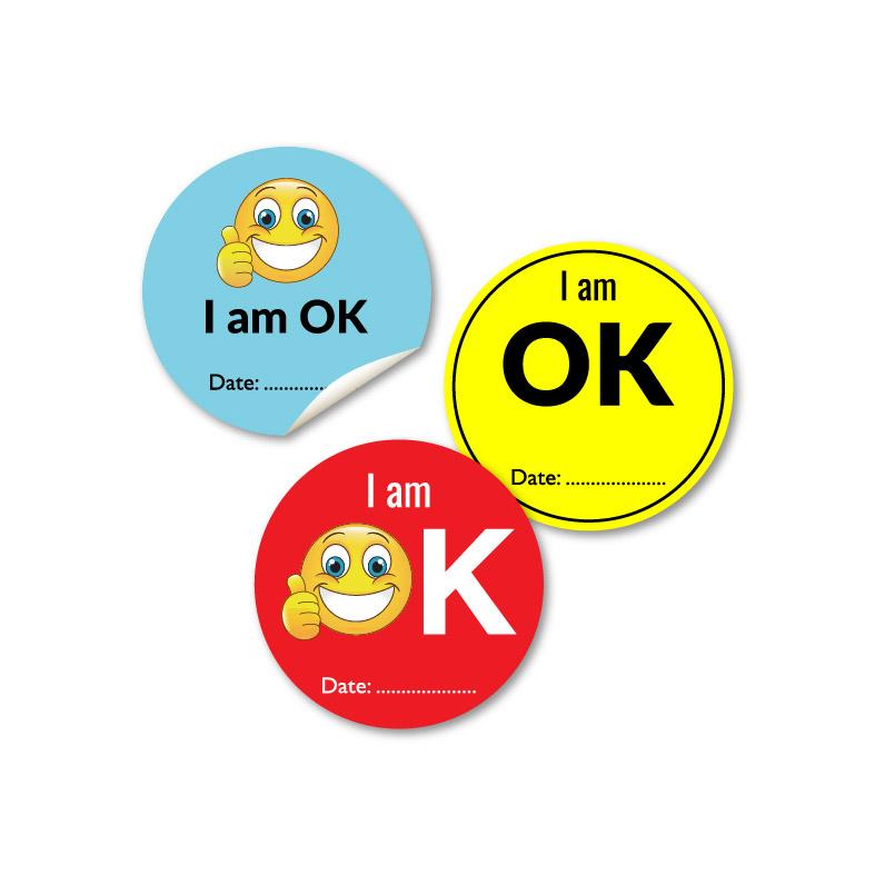 Ready Made OK Stickers