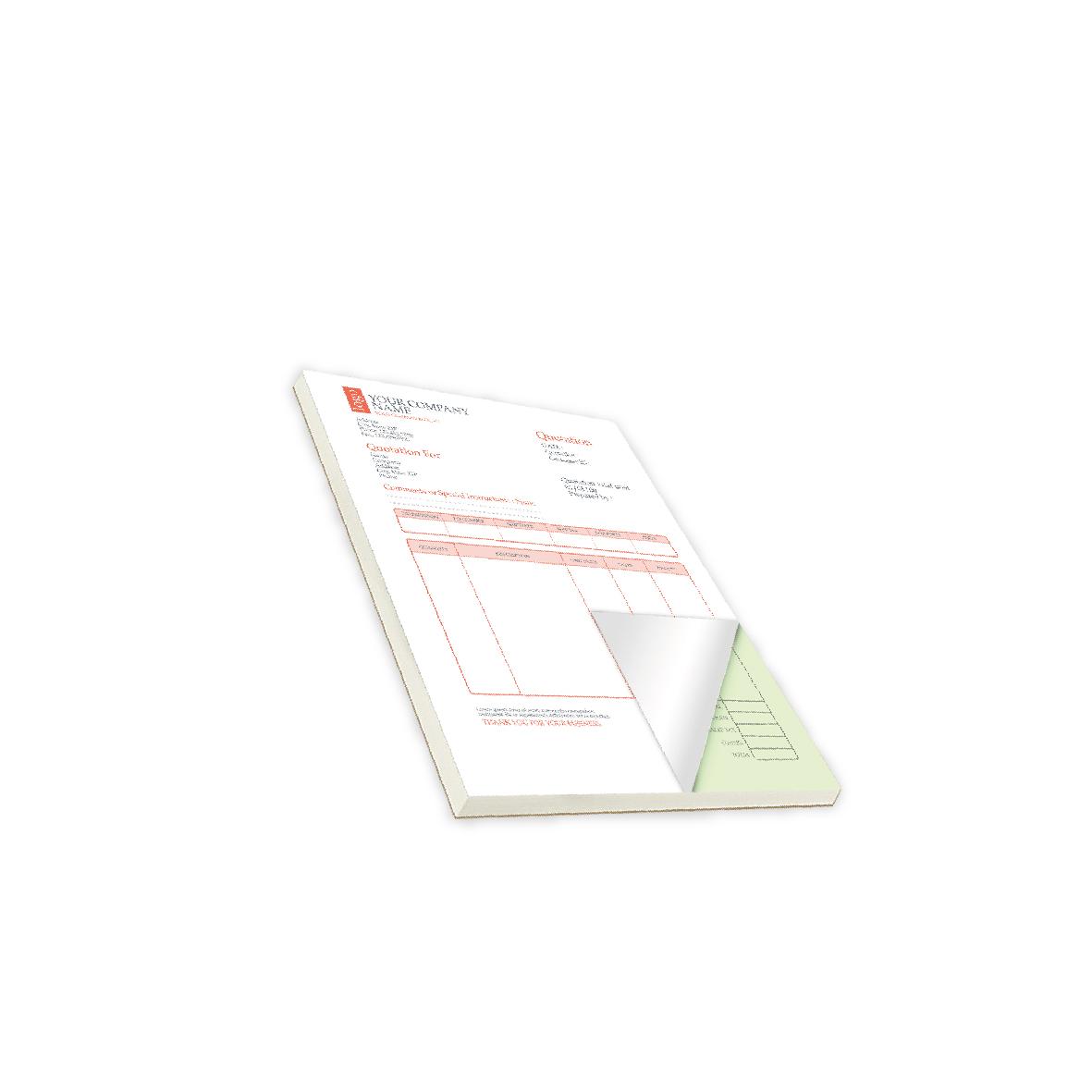NCR Pad Forms
