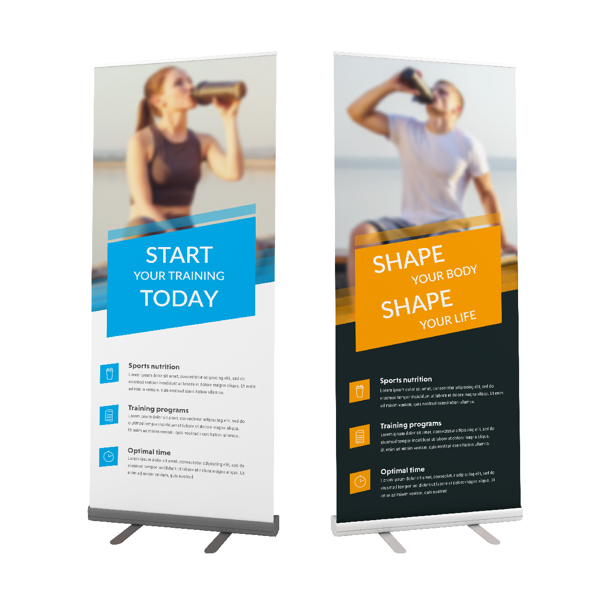 Easy Roll Pull Up Banner