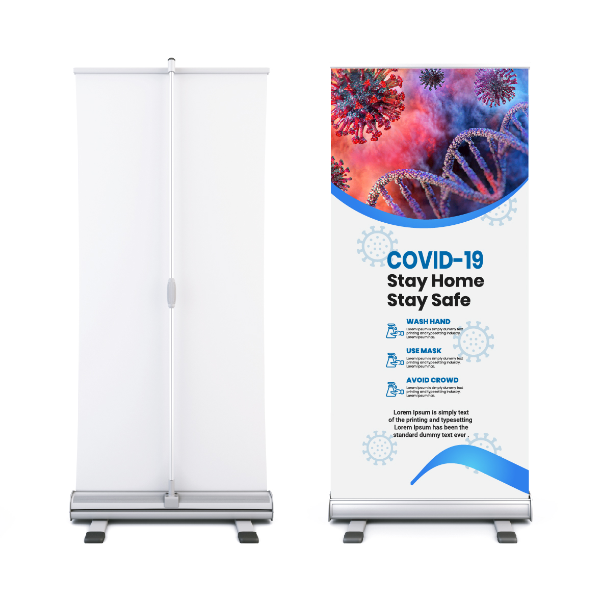 Easy Roll Pull Up Banners